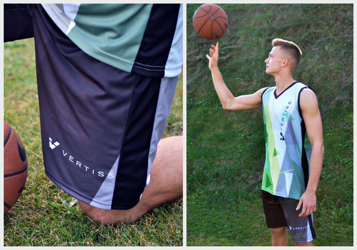 spodenki koszykarskie personalizowane